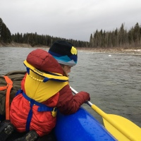 Packrafting the Crown of the Continent, revised