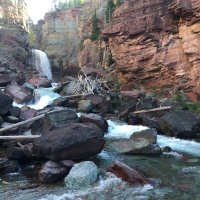 North Fork Falls Canyon